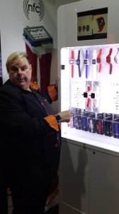 Hermen van den Burg is the founder of Burg Smart Watch. His line of Smart Watches is the most fashionable, functional and affordable that we saw at CES. Adding a SIM card to the watch allows it to function as a cell phone. Look for Burg watches to hit US retail this Spring!